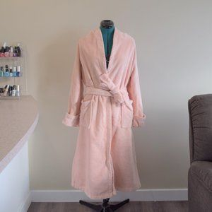 NWOT Blush Pink Saks Bath Robe Housecoat